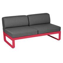 Bellevie 2 Seater Central Module - Pink Praline/Graphite Grey