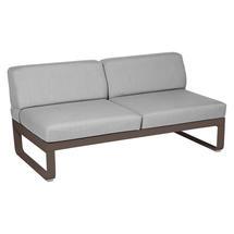Bellevie 2 Seater Central Module - Russet/Flannel Grey