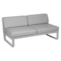 Bellevie 2 Seater Central Module - Steel Grey/Flannel Grey