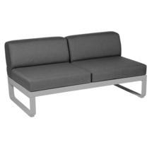 Bellevie 2 Seater Central Module - Steel Grey/Graphite Grey