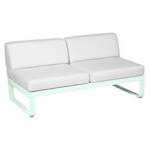 Bellevie 2 Seater Central Module - Ice Mint/Off White