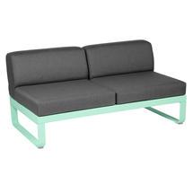Bellevie 2 Seater Central Module - Opaline Green/Graphite Grey