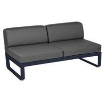 Bellevie 2 Seater Central Module - Deep Blue/Graphite Grey