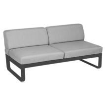 Bellevie 2 Seater Central Module - Anthracite/Flannel Grey