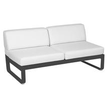 Bellevie 2 Seater Central Module - Anthracite/Off White
