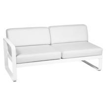 Bellevie 2 Seater Left Module - Cotton White/Off White