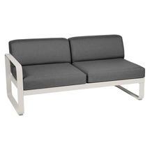 Bellevie 2 Seater Left Module - Clay Grey/Graphite Grey
