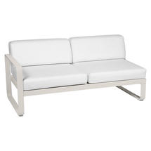 Bellevie 2 Seater Left Module - Clay Grey/Off White