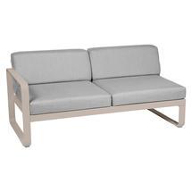 Bellevie 2 Seater Left Module - Nutmeg/Flannel Grey