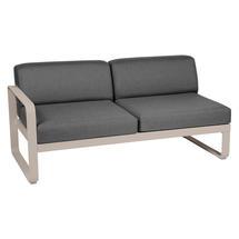 Bellevie 2 Seater Left Module - Nutmeg/Graphite Grey