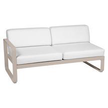 Bellevie 2 Seater Left Module - Nutmeg/Off White