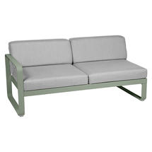 Bellevie 2 Seater Left Module - Cactus/Flannel Grey