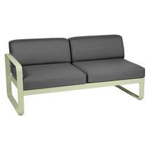 Bellevie 2 Seater Left Module - Willow Green/Graphite Grey