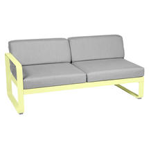 Bellevie 2 Seater Left Module - Frosted Lemon/Flannel Grey