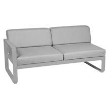 Bellevie 2 Seater Left Module - Steel Grey/Flannel Grey