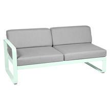 Bellevie 2 Seater Left Module - Ice Mint/Flannel Grey