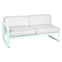 Bellevie 2 Seater Left Module - Ice Mint/Off White