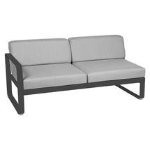 Bellevie 2 Seater Left Module - Anthracite/Flannel Grey