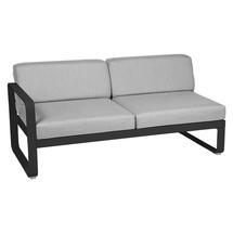 Bellevie 2 Seater Left Module - Liquorice/Flannel Grey