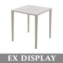 Vista Side Table - Alu Top White