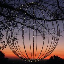 Solar Outdoor 460 LED 50cm Sphere
