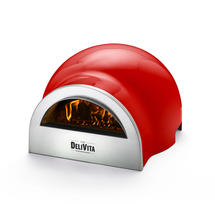 DeliVita Pizza Oven - Red Chilli