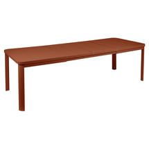 Oleron Extendable Table - Red Ochre
