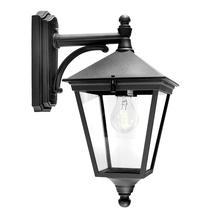 Turin Down Wall Lantern - Black