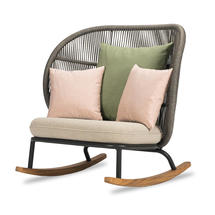 Kodo Rocking Chair Frame - Fossil Grey