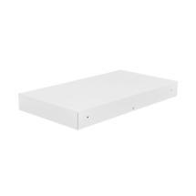 Bellevie Rectangular Connecting Shelf - Cotton White