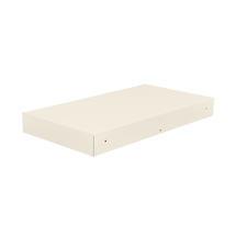 Bellevie Rectangular Connecting Shelf - Clay Grey