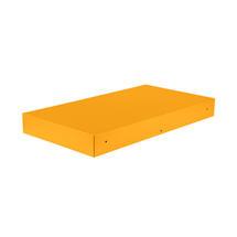 Bellevie Rectangular Connecting Shelf - Honey