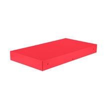 Bellevie Rectangular Connecting Shelf - Pink Praline