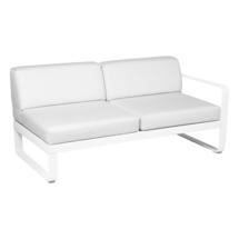 Bellevie 2 Seater Right Module - Cotton White/Off White