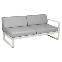 Bellevie 2 Seater Right Module - Clay Grey/Flannel Grey