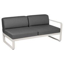 Bellevie 2 Seater Right Module - Clay Grey/Graphite Grey