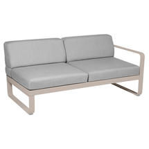 Bellevie 2 Seater Right Module - Nutmeg/Flannel Grey