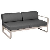 Bellevie 2 Seater Right Module - Nutmeg/Graphite Grey