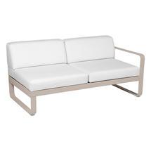 Bellevie 2 Seater Right Module - Nutmeg/Off White