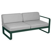Bellevie 2 Seater Right Module - Cedar Green/Flannel Grey