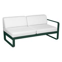 Bellevie 2 Seater Right Module - Cedar Green/Off White