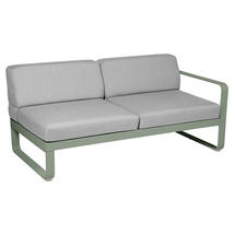 Bellevie 2 Seater Right Module - Cactus/Flannel Grey