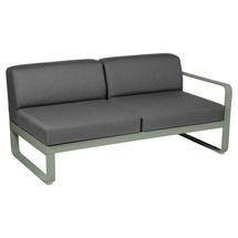 Bellevie 2 Seater Right Module - Cactus/Graphite Grey