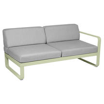 Bellevie 2 Seater Right Module - Willow Green/Flannel Grey
