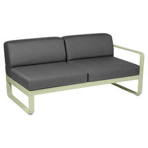 Bellevie 2 Seater Right Module - Willow Green/Graphite Grey