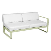 Bellevie 2 Seater Right Module - Willow Green/Off White