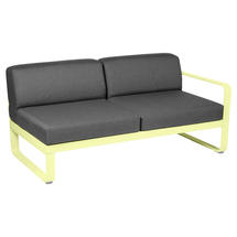 Bellevie 2 Seater Right Module - Frosted Lemon/Graphite Grey