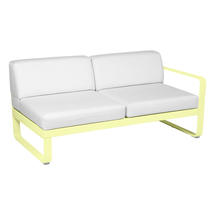 Bellevie 2 Seater Right Module - Frosted Lemon/Off White