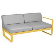 Bellevie 2 Seater Right Module - Honey/Flannel Grey