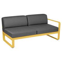 Bellevie 2 Seater Right Module - Honey/Graphite Grey